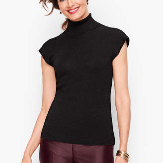 Talbots Cap Sleeve Turtleneck Shell