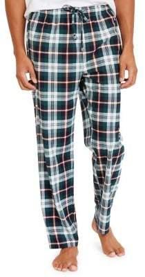 Nautica Cozy Fleece Plaid Pants