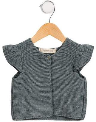 Mademoiselle Charlotte Girls' Short Sleeve Cardigan w/ Tags