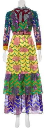 Gucci 2016 Organdy Silk Gown