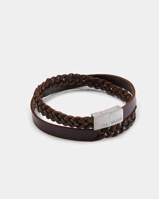 Ted Baker TRABEK Leather wrap bracelet