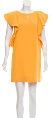 Rachel Zoe Cap Sleeve Mini Dress