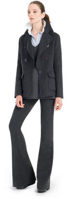 Max Studio doubleweave wool tailored jacket