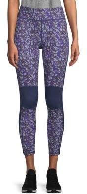 Zobha Printed Knee Pad Leggings