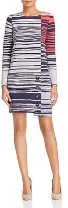 Nic+Zoe Side Note Toggle Sweater Dress