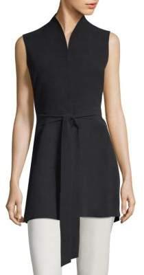 Eileen Fisher Long Belted Vest