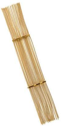 Chloé Delfine Fringe Chain Bracelet