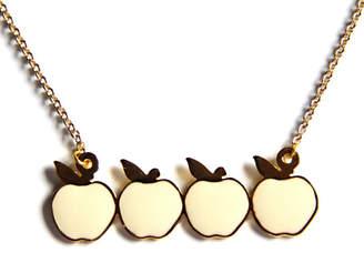 Bonnie Heart Apples Necklace