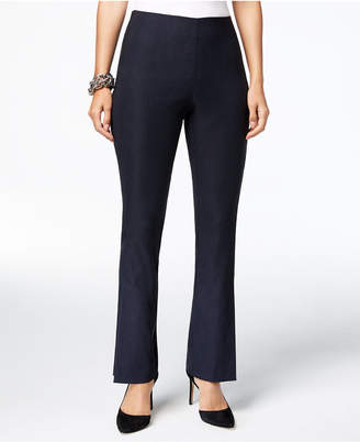 INC International Concepts I.n.c. Slit-Front Pull-On Bootcut Pants, Created for Macy's