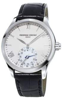 Frederique Constant Horological Swiss-Quartz 5ATM Stainless Steel Smart Watch