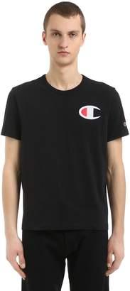 Champion Mini Logo Cotton Jersey T-Shirt