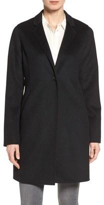 Petite Women's Michael Michael Kors Double Face Wool Blend Coat $228 thestylecure.com