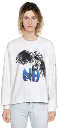 Enfants Riches Deprimes N.a. Stone Washed Cotton Sweatshirt