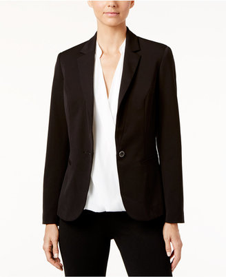 INC International Concepts Single-Button Blazer, Only at Macy's $99.50 thestylecure.com