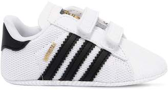 adidas Superstar Mesh & Faux Leather Sneakers
