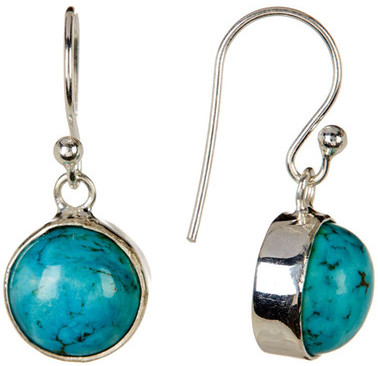 Exex Design Jewelry Sterling Silver Beltsy Turquoise Earrings