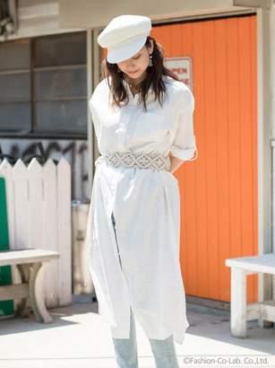 goa (ゴア) - - Linen Cotton Shirt One Piece