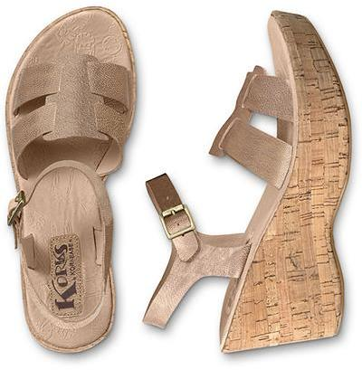 Eddie Bauer Korks by Kork-Ease® Brie Wedge Sandals