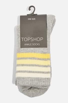 Topshop Multiple Striped Sporty Tube Socks