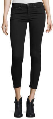 3b5705100957d ... Rag   Bone Nero Capri Denim Jeans