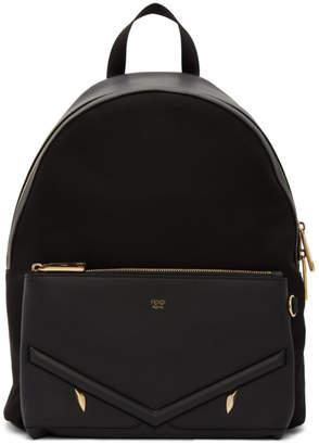 Fendi Black Golden Bag Bugs Backpack