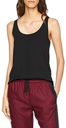 French Connection Women's CLEE Crepe Light Vest Blouse,8 (Size: X-Small)