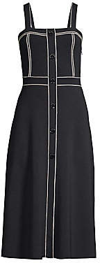 Sandro Women's Edith Stitched Midi Dress