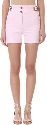 Chloé Pink Denim Cotton Shorts