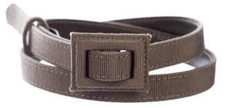 Christian Dior Grosgrain Narrow Belt