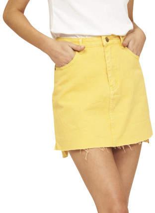 MinkPink Coastal Denim Skirt