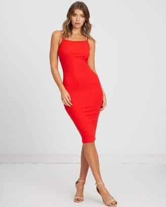 Atmos & Here ICONIC EXCLUSIVE - Rachel Tie Back Midi Dress