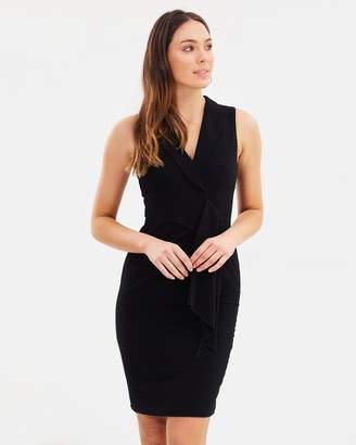 Karen Millen Wrap Effect Dress