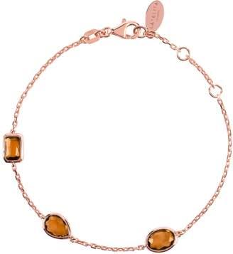 Rosegold Latelita - Venice Bracelet Smokey Quartz
