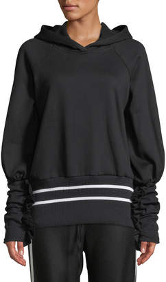 Maggie Marilyn Way Past Curfew Sporty Ruffle Pullover Hoodie