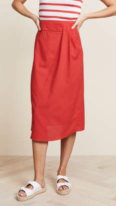 Vince Pleat Skirt