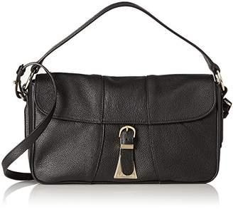 LK Bennett Scarlett, Women's Shoulder Bag, Schwarz (Bla-black), 9x16x30.5 cm (B x H T)