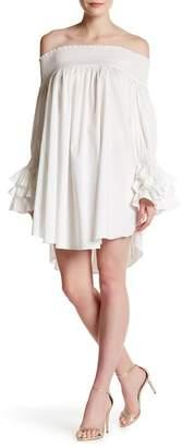 Gracia Off-the-Shoulder Ruffled Dress