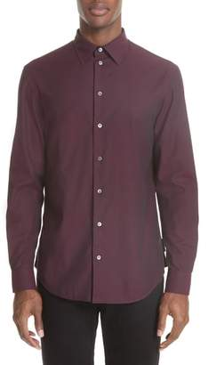 Emporio Armani Solid Dress Shirt