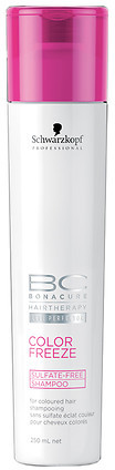 Schwarzkopf Professional Bonacure Color Freeze Sulfate-Free Shampoo for Color-Treated Hair