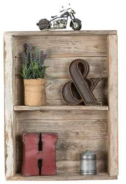DelHutsonDesigns Reclaimed Wood Wall Shelf