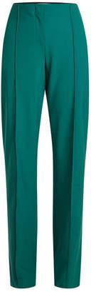 Diane von Furstenberg High-Waist Wool Pants