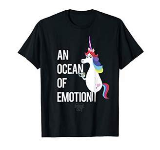 Disney Inside Out Unicorn Ocean Graphic T-Shirt