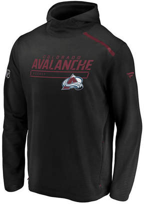 Majestic Men Colorado Avalanche Rinkside Transitional Hoodie