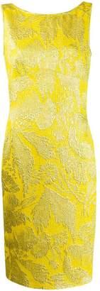 Aspesi fitted shift midi dress