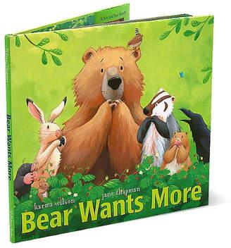Simon & Schuster Bear Wants More
