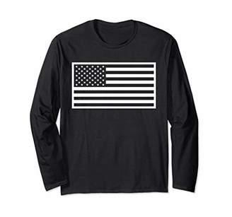 White American Flag Shirt