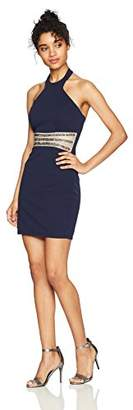 Speechless Junior's Party Dress with Waist Cut Outs (Junior's)