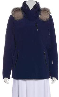 Spyder Fur-Trimmed Hooded Jacket