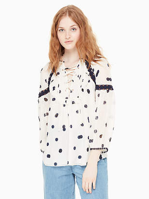 Kate Spade Mini dee dot billie top