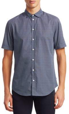 Emporio Armani Cotton Button-Front Shirt